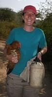 Carrying chicken home